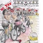Carovana Ciclistica No Tav - No GOII 2015